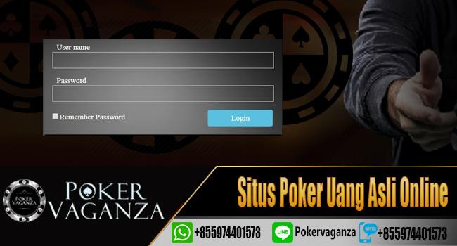 Daftar Poker Poker Uang Asli
