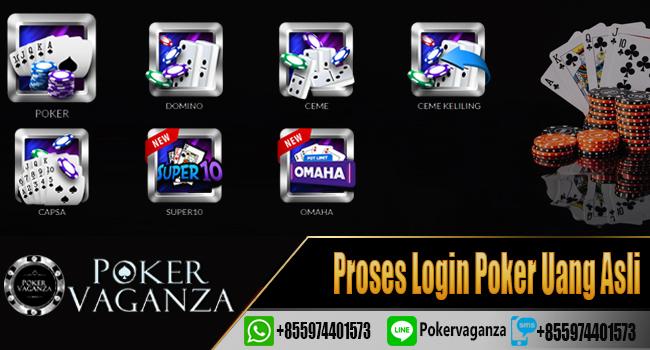 Login Poker Poker Uang Asli